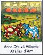 Logo de Anne Croizé Villemin Atelier d'Art